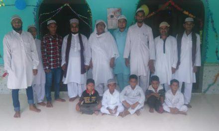 ईद का त्यौहार मनाया