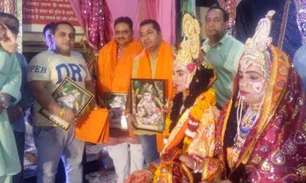 श्री कृष्ण जन्माष्टमी के उपलक्ष्य में सात दिवसीय धार्मिक समारोह