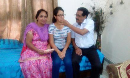 रयात बाहरा की स्टूडेंट माधवी ने हासिल किया PCS में  25 वां स्थान