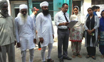 'आप' ने मंत्री संदीप को बाहर का रास्ता दिखाकर राजनीति में नई मिसाल पेश की – एडवोकेट जैरथ