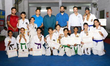 मसूरी ओपन अंतर्राज्यीय  कराटे प्रतियोगिता में छाए पंजाब के कराटेका