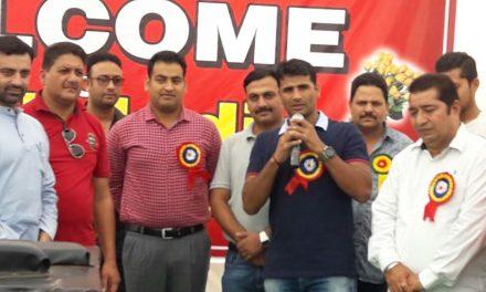 होशियारपुर में पहली बार आयोजित हुई नार्थ इंडिया आर्म रेस्लिंग टूर्नामैंट