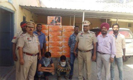 जाली साऊंड सिस्टम लगाकर बेचने के मामले में पुलिस ने आरोपी  पकड़े
