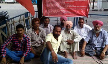 728वें दिन भूख हड़ताल पर बैठी होशियारपुर की टीम