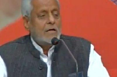 सपा नेता के बिगड़े बोल- प्रधानमंत्री मोदी और अमित शाह को बताया आतंकी