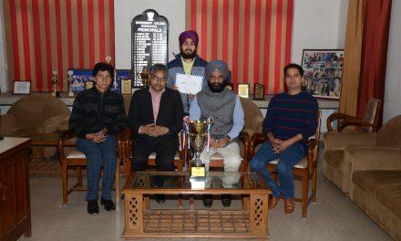 सरकारी कॉलेज के परमजीत ने जीता पंजाब कैरिओके मुकाबला।