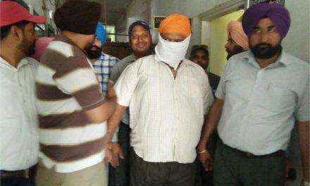 20 हजार की रिश्वत लेता ASI  गिरफ्तार