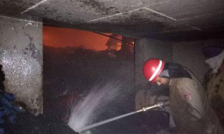 लुधियाना में कपड़ा फैक्ट्री में लगी भीषण आग