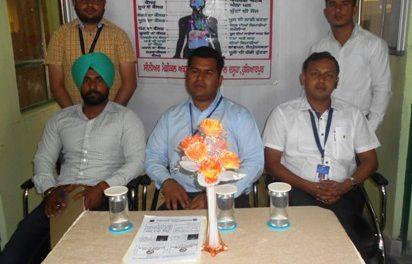नशे की रोकथाम के लिए एक जागरुकता सैमिनार का आयोजन किया गया।