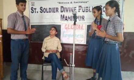 सेंट सोल्जर डिवाइन पब्लिक स्कूल माहिलपुर में विश्व नम्रता दिवस मनाया