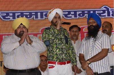 रुडक़ी में हरपाल लाडा के गीत 'भगत सिंह' की रही धूम