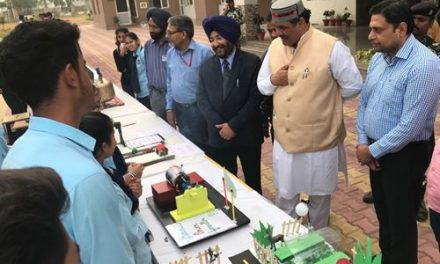 रयात बाहरा इंटरनेशनल स्कूल में साइंस मेला करवाया गया ।