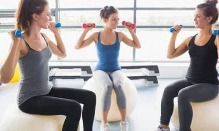 A study says exercising with friends may reduce stress     –  Dr. Rupinder
