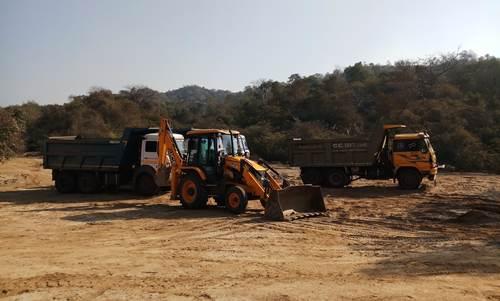 पंचायत द्वारा दिए गए रास्ते से हिमाचल प्रदेश के क्रेशरों ने पंजाब का जंगल उजाड़ दिया।