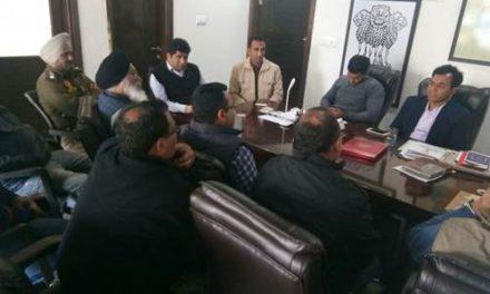 विधायक डा. राज  ने भट्टा मालिकों को अवैध माईनिंग खिलाफ सहयोग देने की अपील की