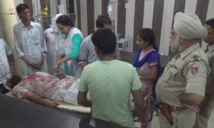 बठिंडा में खूनी झड़प,पुलिस मुलाजिम घायल