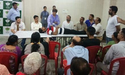 भगवान परशुराम सैना ने स्वास्थ्य जागरूकता  अभियान के तहत 39वां फ्री मैडिकल कैम्प लगाया