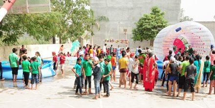 सेंट सोल्जर स्कूल में किड्स कार्निवाल आयोजित