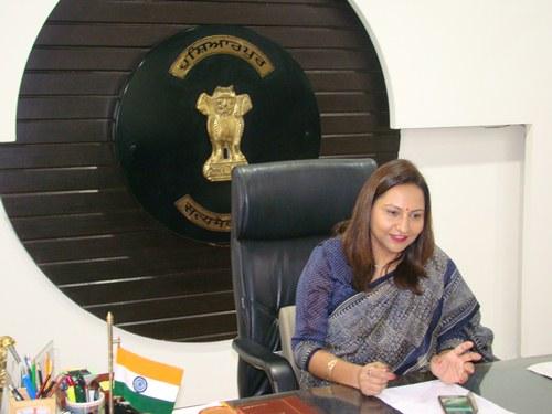 आई.ए.एस ईशा कालिया ने होशियारपुर में डिप्टी कमिश्रर के तौर पर पद संभाला