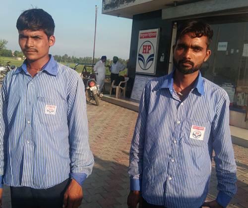 लुटेरों ने गांव प्रेमपुर के पैट्रोल पंप से पिस्तौल के दम पर 80 हजार लूटे