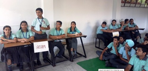 एसएवी जैन डे बोर्डिंग स्कूल के चार हाऊसों में विभिन्न प्रतियोगिताओं का हुआ आयोजन
