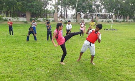 रयात बाहरा स्कूल में बच्चों के शरीरिक और बौधिक विकास के लिए एक्टिविटी पीरीयड शुरु