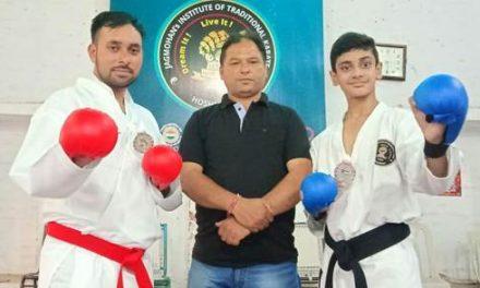 मलेशिया में आयोजित अंर्तराष्ट्रीय कराटे प्रतियोगिता में जे.आई.टी.के. के कराटेकाज का शानदार प्रदर्शन