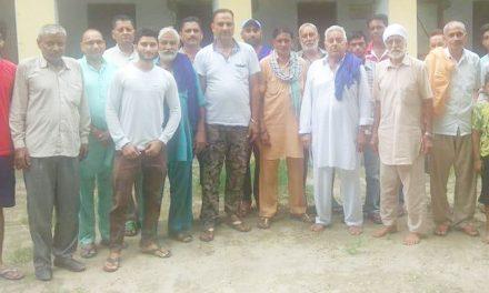 गांव बिहाला में पानी की सप्लाई ठीक ढंग से ना हुई तो वोट मांगने ना आए विधायक-गांव वासी