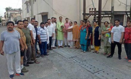 22 साल बाद प्रल्हाद नगर को मिली राहत-निपुण शर्मा