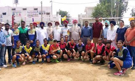 टांडा में राज्य लेवल का वॉलीबाल टूर्नामेंट शुरू