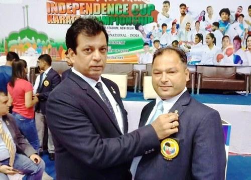जगमोहन विज ने  फिर होशियारपुर और पंजाब का नाम अंतर्राष्ट्रीय कराटे पटल पर चमकाया