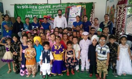 सेंट सोल्जर स्कूल में फैंसी ड्रेस प्रतियोगिता आयोजित