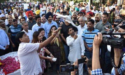 गांधी जयंती पर हैप्पी स्ट्रीट प्रोग्राम जिला प्रशासन होशियारपुर का बेहतरीन प्रयास: अरोड़ा