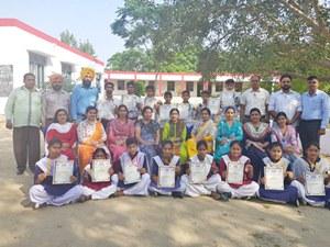 सरकारी स्कूल खडक़ा के छात्रों ने जीते 20 पदक