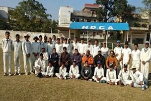 क्रिकेट -एच.डी.सी.ए ने गुरदासपुर को रोमांचक मुकाबले में 1 रन से हराया