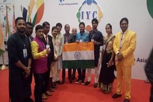कोलंबो  में आयोजित युवा सम्मेलन में शामिल हो इकविदर कौर ने पंजाब का नाम किया रोशन।