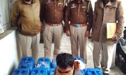 टांडा पुलिस ने भारी मात्रा में  शराब बरामद की