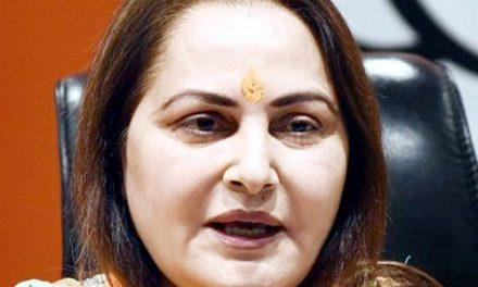 बी.जे.पी. नेता जयाप्रदा के खिलाफ गैर जमानती वारंट जारी
