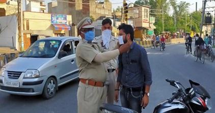 जिले में 2200 पुलिस अधिकारी व कर्मचारी हैं 24 घंटे मुस्तैद: एस.एस.पी