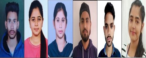 रयात बाहरा इंजीनियरिंग कालेज केे 10छात्रों ने बनाया पीटीयू की मैैरिट लिस्ट में स्थान