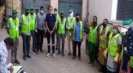 कच्चे सफाई कर्मचारियों को तुरंत पक्का किया जाए : अनिल हंस