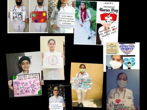 रयात बाहरा नर्सिंग कॉलेज के छात्रों ने अंतर्राष्ट्रीय नर्स दिवस मनाया