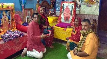 धीर मां भामेश्वरी देवी मंदिर में हुए नतमस्तक, सभी के मंगल की कामना की :