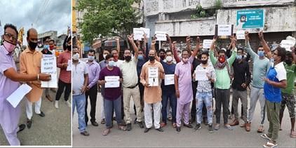 बेगमपुरा टाइगर फोर्स द्वारा सरकार के लिए भीख मांग मुहिम शुरु :