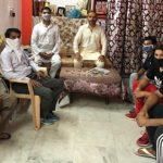 5 अगस्त को अयोध्या में भव्य मंदिर के हो रहे शिलान्यास के सन्दर्भ में बैठक संपन्न हुई :
