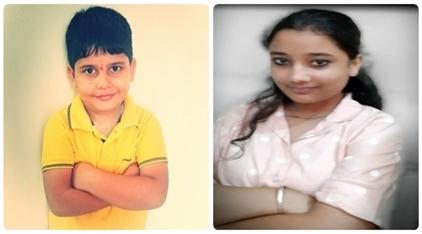 शिक्षा विभाग द्वारा करवाए गए एंबेसडर आफ होप में भव्या शर्मा और उसके भाई ओजस शर्मा ने दूसरा स्थान प्राप्त किया
