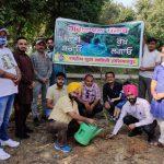 राष्ट्रीय युवा वाहिनी के महासचिव सुखबीर सिंह ने पौधारोपण करके मनाया जन्मदिन