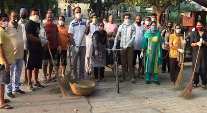 """पीएम् मोदी के जन्मदिन को समर्पित """"सेवा सप्ताह"""" को सफल बनाने में जुटे कार्यकर्ता"""