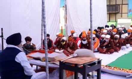 सेंट सोल्जर में श्रद्धा से मनाया श्री गुरु गोबिंद सिंह जी का प्रकाश पर्व