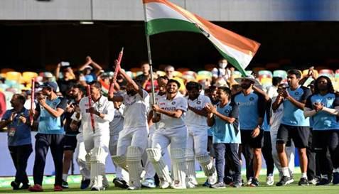 ਭਾਰਤੀ ਕ੍ਰਿਕਟ ਟੀਮ ਨੇ ਗਾਬਾ 'ਚ ਰਚਿਆ ਇਤਿਹਾਸ
